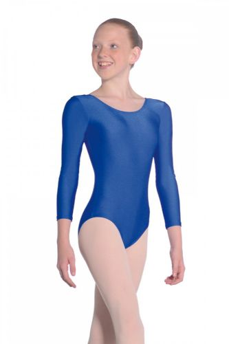 Roch Valley JULIE Long Sleeved Leotard with Scoop neck.